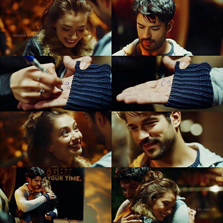 Nihan dedicate Kemal's hand