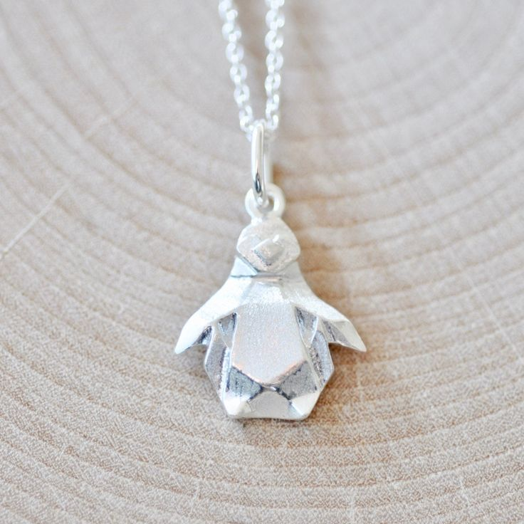 Waddling it's way into Jamber Jewels is my next New Design:  Origami Penguin!  http://etsy.me/2C32LIc