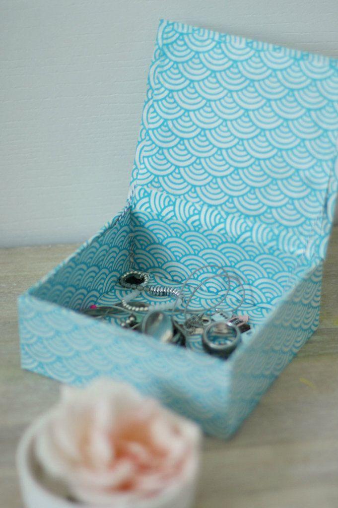 Fabriquer une boîte aux allures japonisantes {DIY} - Avec ses 10 p'tits doigts... Soyez DIY !