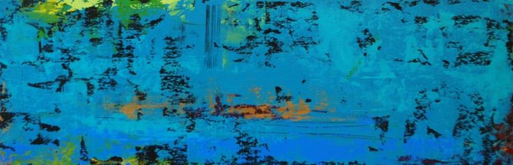 Vivir asi es morir de amor (To Live like that is to die of Love).Acrylic on Panel.8×24