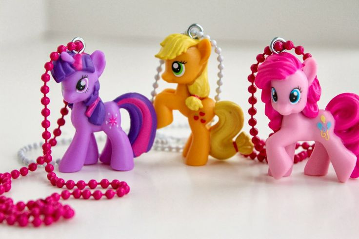 Super Cute DIY My Little Pony Necklaces for Kids