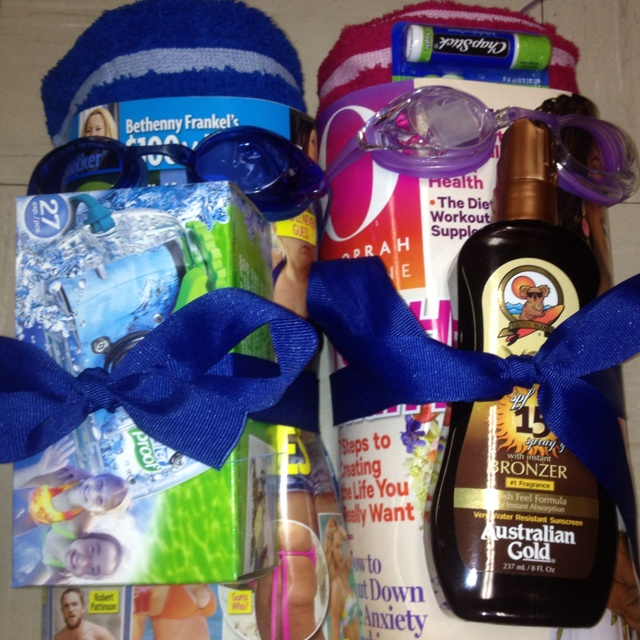 Cruise Wedding Gift Bag Ideas : ... gifts awesome gifts fun gifts beach towel gift baskets lotion cruise