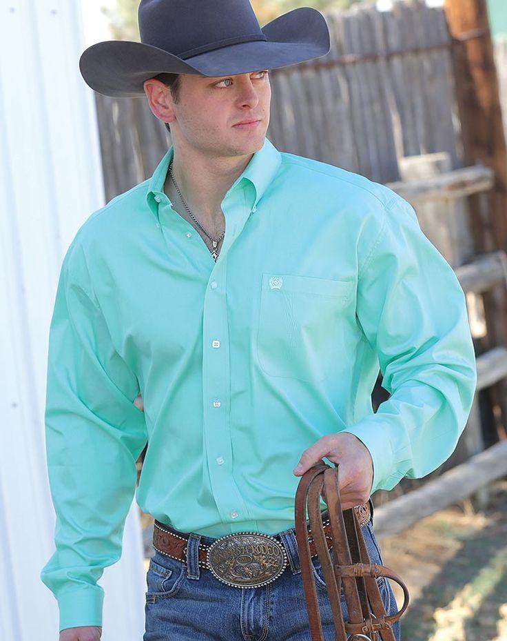Mint Green Shirt For Men