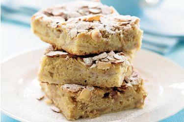Feijoa and almond slice – Recipes – Bite