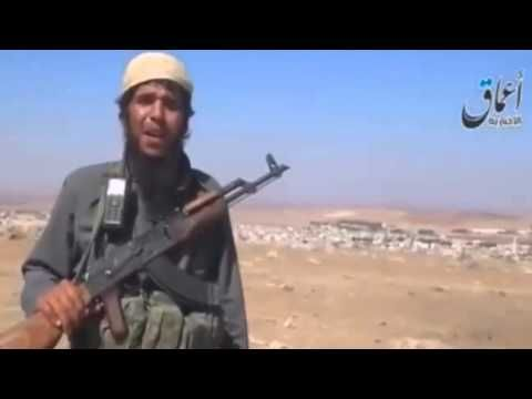 Islamic State fighters creep towards the Syrian border town of Kobani