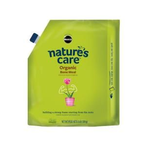 Miracle-Gro, Nature's Care 3 lb. Organic Bone Meal, trying this brand first time 2015.