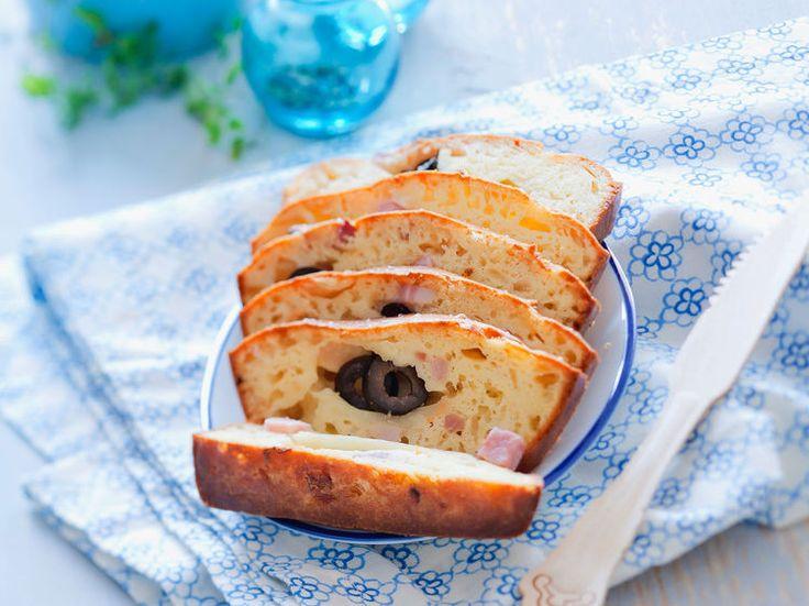 Recette Cake Sal Ef Bf Bd Jambon Et Olives