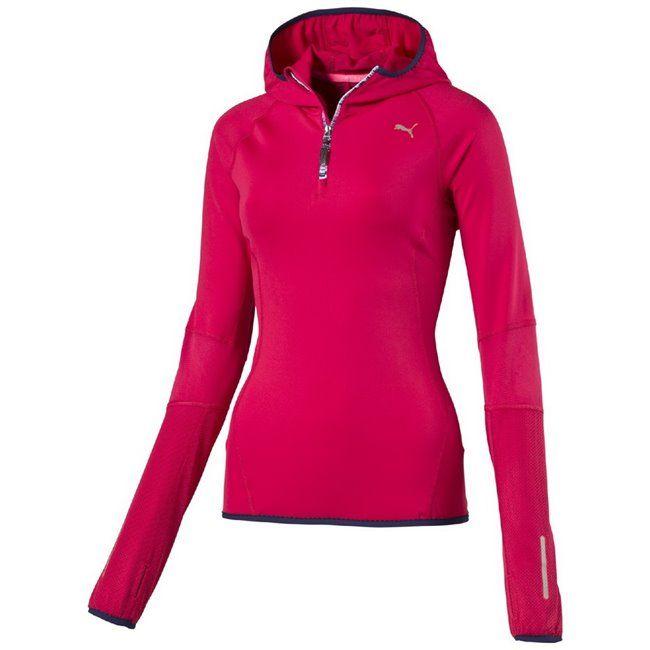 PUMA PR_Core_L S 1 2zip Hoody W dámský top  #Crishcz #PUMA #Running #Sweatshirt