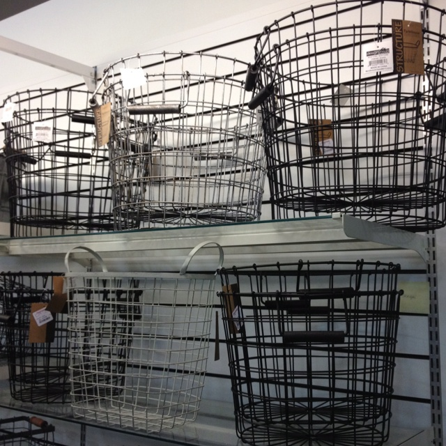 Gorgeous Wire Baskets At Tj Maxx Industrial Chic At 15