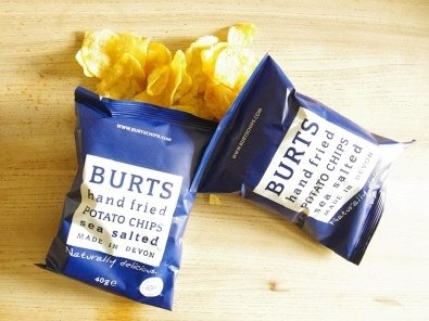 2 packets of Burts crisps for £1.50. YUM.