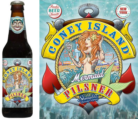 Obey the siren song of the mythological Coney Island Mermaid. Four spicy hops flow into seven golden malts. Perfect as a distraction, or equally enchanting as a parade towards deeper delights. When beer tastes this good and you don't have scurvy, you don't need a lime.