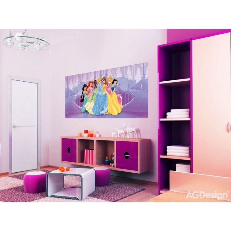 Disney hercegnős poszter (202 cm x 90 cm)
