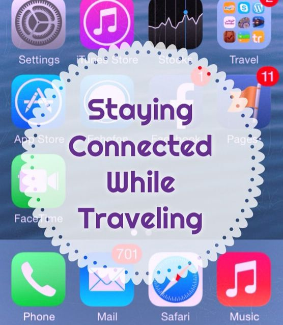 travel tips stay connected
