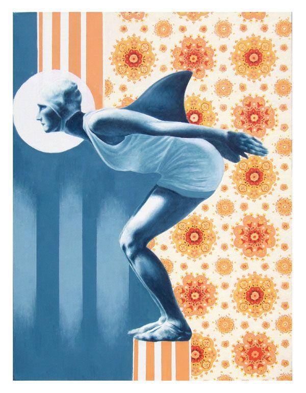 Tiziano Soro | Cleaning Service | 2012 | acrilic on canavas | 60x80cm