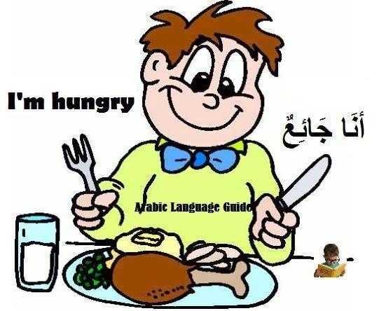 Hunger=Al-juu' ( الجُوعْ), I am hungry-Anaa jaai'/أنا جائِعٌ, - I ...