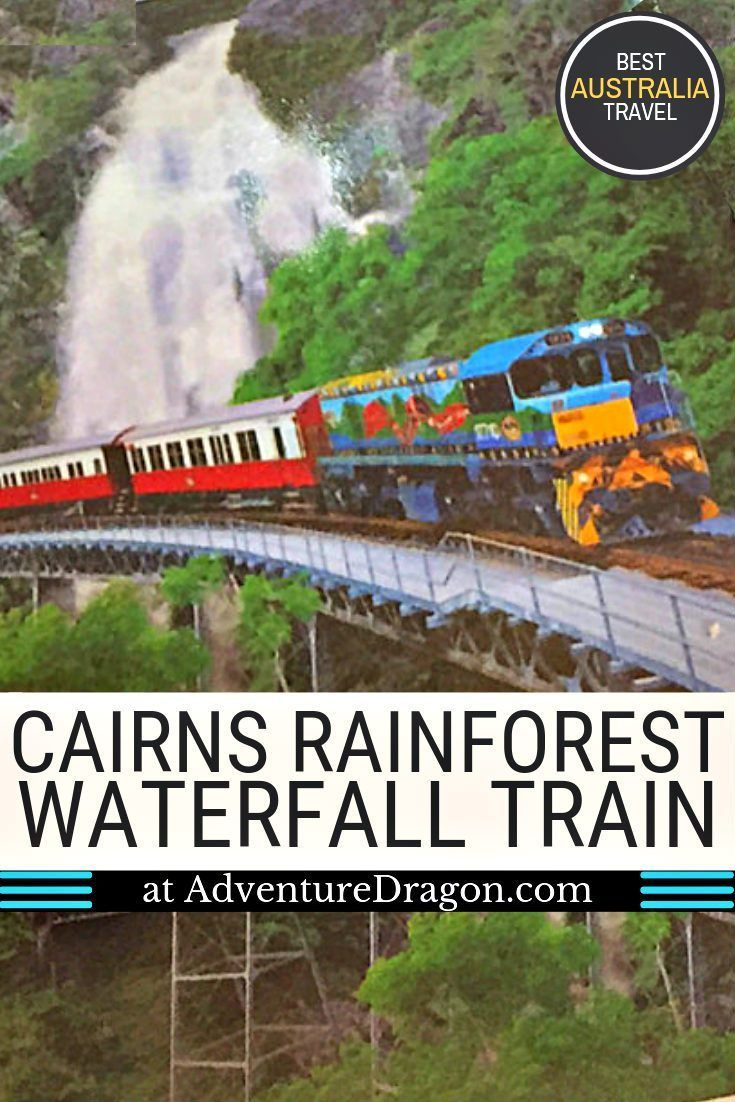 Kuranda Scenic Railway Review Riding The Rainforest Waterfall Train From Cairns To Kuranda Australia Honeymoon Scenic Train Rides Australia Photos
