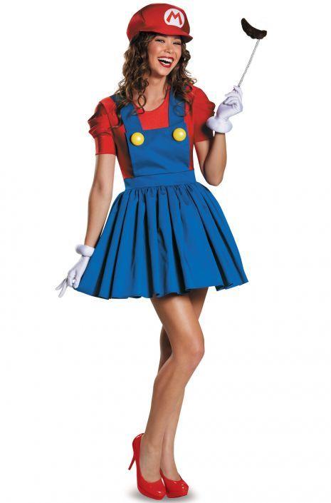 mario skirt adult costume