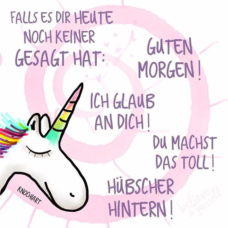 Thanks a lot, beautiful unicorn!