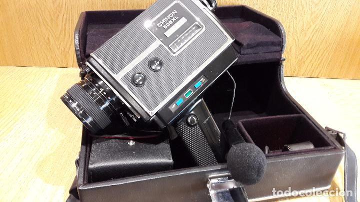 TOMAVISTAS / FILMADORA CHINON 505 XL DIRECT SOUND CON FUNDA ORIGINAL, MICRO Y PELÍCULAS.