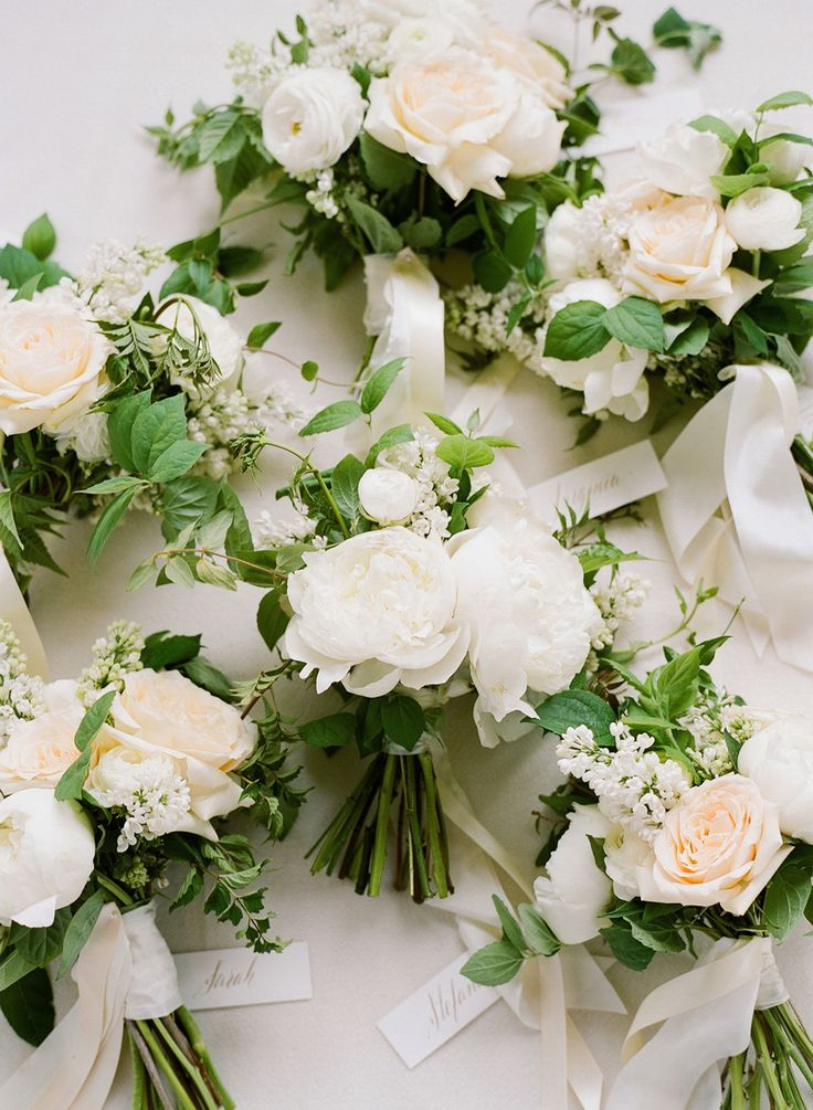 Floral Design: Kelly Kaufman - http://www.stylemepretty.com/portfolio/kelly-kaufman Photography: Joel Serrato - joelserrato.com Read More on SMP: http://www.stylemepretty.com/2016/09/05/all-white-ojai-valley-inn-wedding/