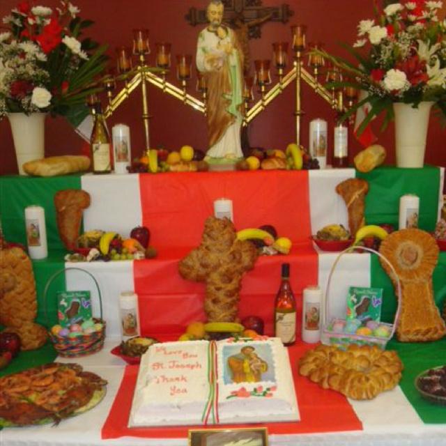 Altar Wedding Kansas City: 17 Best Images About St. Joseph Table On Pinterest