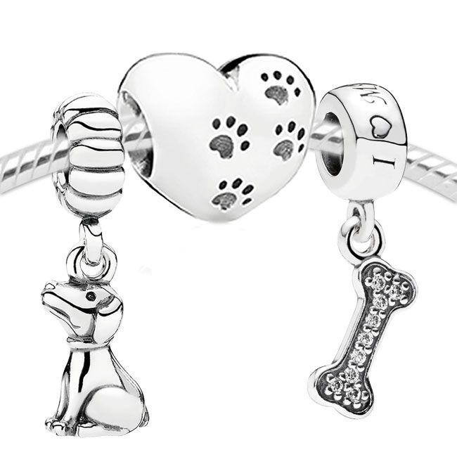Pandora My Sweet Dog Set- £120!:O i do love my dog, she is my best friend! 15 this year!:O