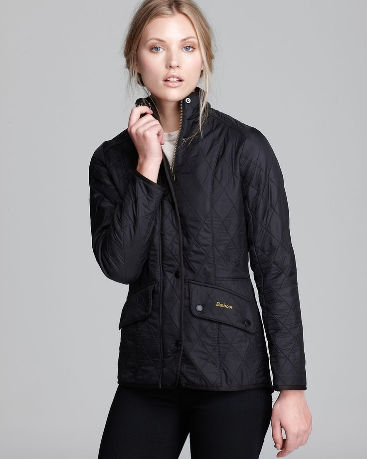 In a lightweight construction, Barbour's Calvalry Polarquilt jacket is classic in a quilted, waist length silhouette. A fleece lining adds concealed comfort. | Shell: Polyamide; lining: polyester; sle