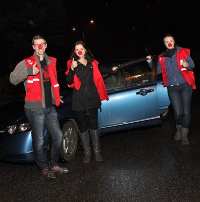 Operation Red Nose was a huge success in its first year in Burnaby and New Westminster.