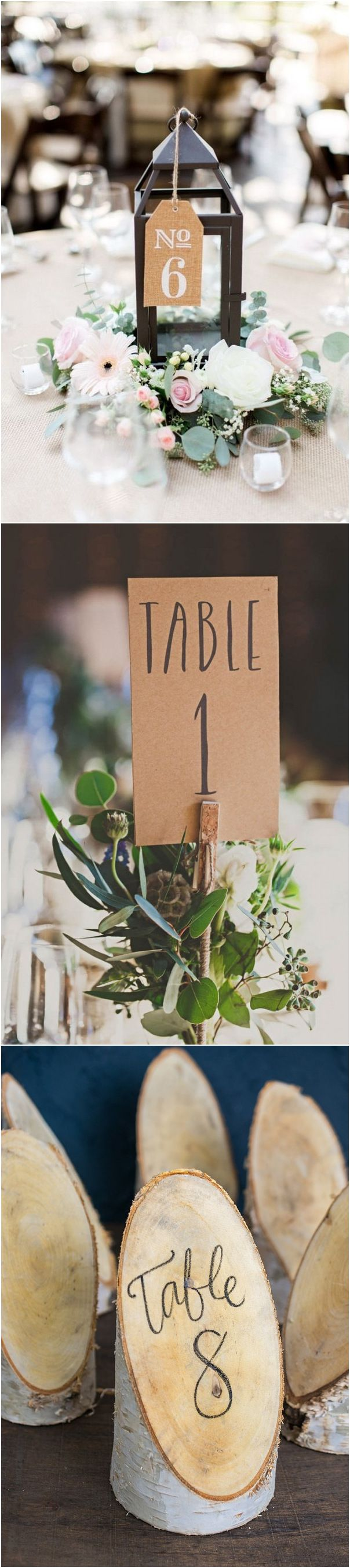 trending wedding table number decoration ideas