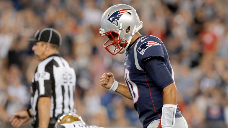 Jimmy Garoppolo shows Patriots' backup QB spot is in good hands #FansnStars
