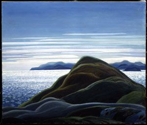 Franklin Carmichael - Group of Seven every morning i look out at the see like this.