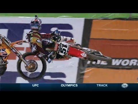 Ama Supercross 2014 RD7 Arlington 450 Main Event Part 1