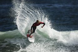 TWA-0045658 © WestPix Jack Thomas competes in the King of the Point at Trigg today. Pic: MIchael Wilson, The West Australian.