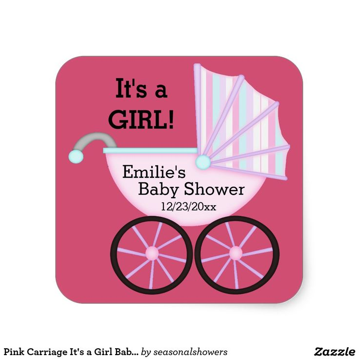 84 best Cute Girly Girl Baby Shower Invitations images on Pinterest ...