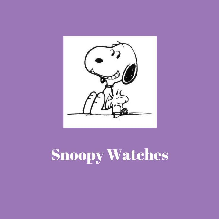 List of Snoopy Watches This list of Snoopy watches will help Snoopy fans, and those that are buying gifts for Snoopy fans, find a perfect Snoopy watch!  I love the first watch on the list.  I have a preference for silver jewelry and  I love pink–pink and purple are my favorite colors!  Snoopy is one of my favorite characters!  The first watch is a perfect match for me.  Which one is your favorite?