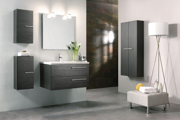 Muebles bano gris claro 20170824043436 for Muebles de bano blancos