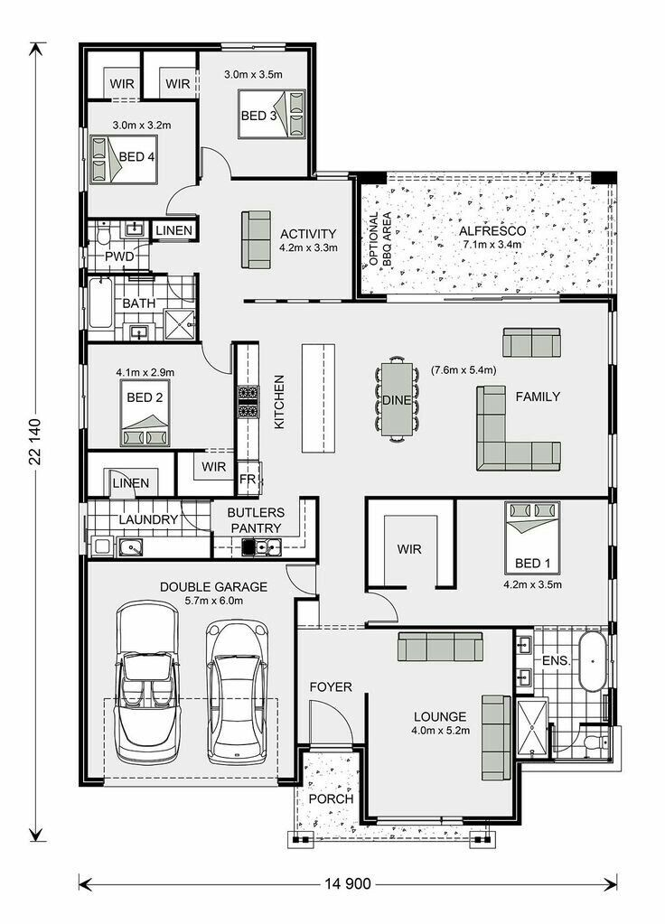 Pin By Marqueshama On Architectural Design House Plans Australia Home Design Floor Plans New House Plans