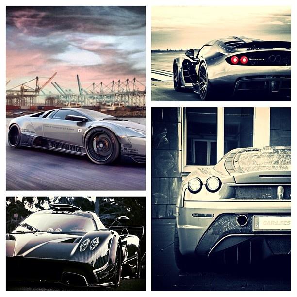 Super Supercar Collage