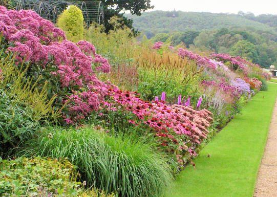 Perennial border - Arley Hall