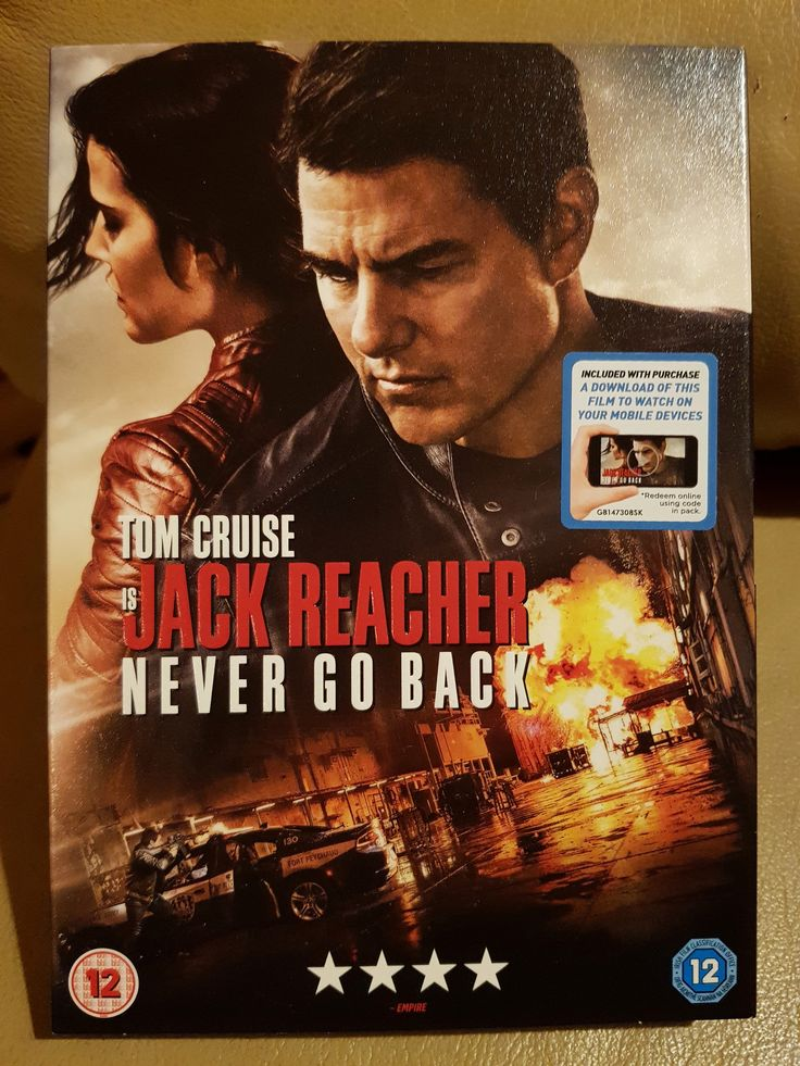 Jack Reacher 2 Never Go Back Jack Reacher Blu Ray Jack