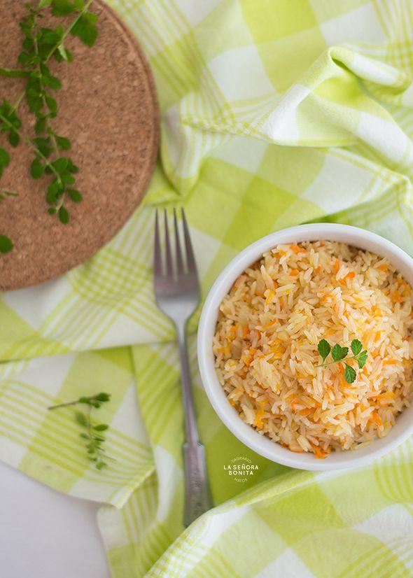 Deliciosa receta de Arroz Pilaf con Zanahoria/ Delicious Carrot Pilaf Rice Recipe