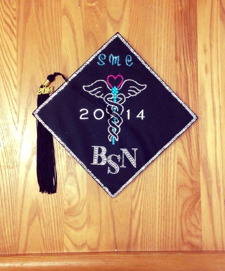 30 Best Images About Nursing Graduation Cap Ideas On