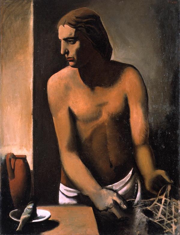 Il povero pescatore (Mario Sironi, 1924-25, MART, Rovereto)