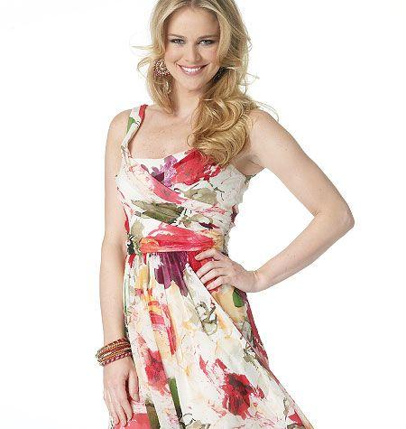 B5750, Misses' Dress