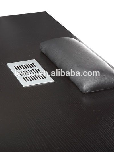 Source Levao nail bar vintage double manicure table wholesale use in nail salon equipment on m.alibaba.com