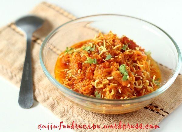 Sev Tamatar Sabzi – Gujarati recipe. All gujju's like Sev Tamatar Sabzi