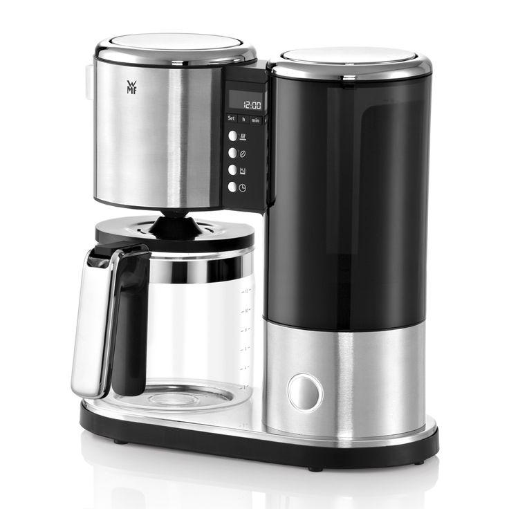 Smart og stilfuld kaffemaskine fra den tyskeproducent WMF. Bryg op til 12 kopper…
