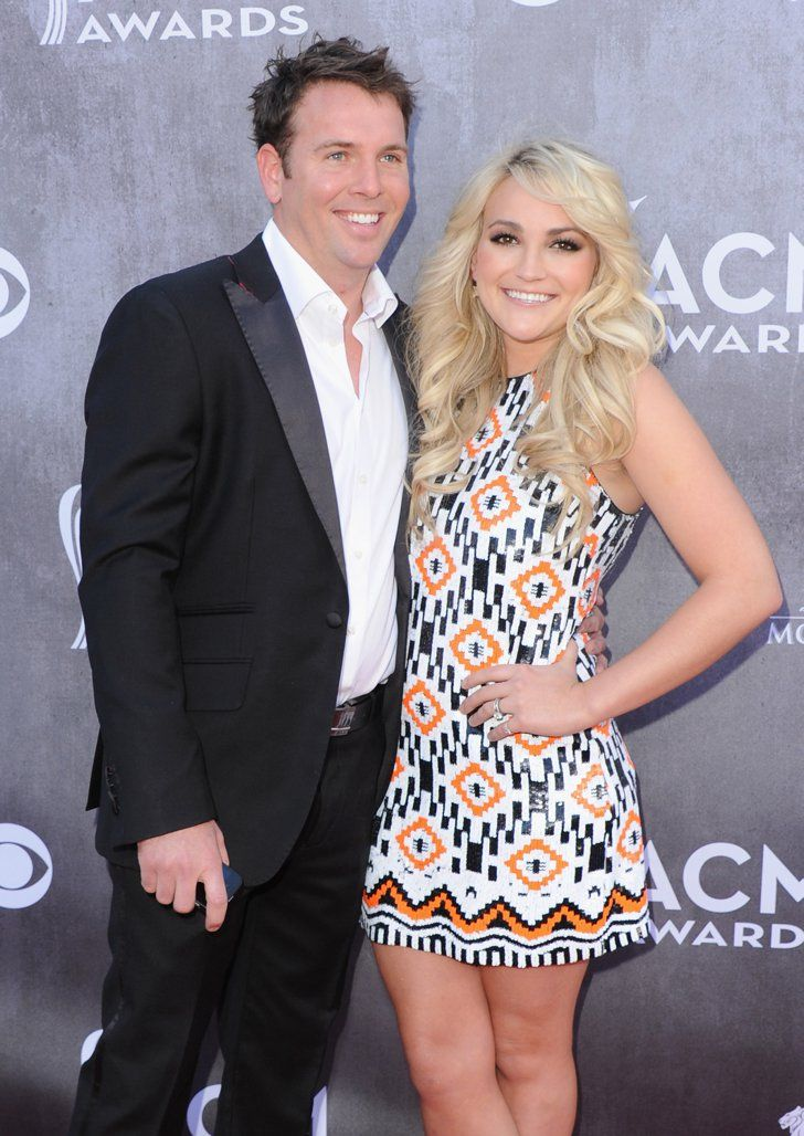 Pin for Later: The Best Celebrity Weddings of 2014! Jamie Lynn Spears and Jamie Watson