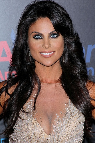 Nadia Bjorlin...Gorgeous.. Love Her Eyes And Hair..They Go Great Together  :) She's my favorite soap star awesome :)