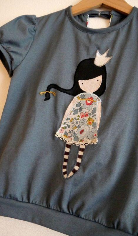 Текстильная аппликация на одежде